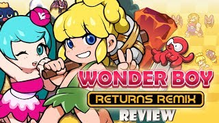 Wonder Boy Returns Remix (Switch) Review (Video Game Video Review)