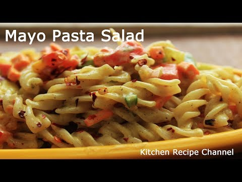Mayo Pasta Salad|Cold Pasta Salad| How to make Subway Pasta Salad
