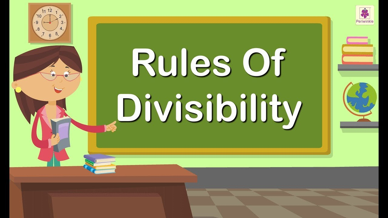 hight resolution of Rules Of Divisibility   Concept of Division For Kids   Maths Grade 4    Periwinkle - YouTube