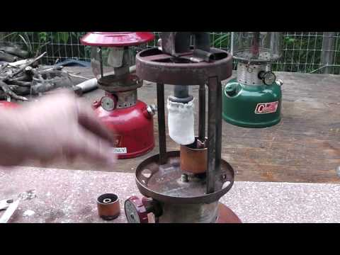 How to Convert a Coleman Lantern to Run on Kerosene or Jet Fuel