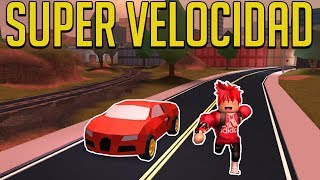 TIP TO TENER SUPER SPEED JAILBREAK ROBLOX