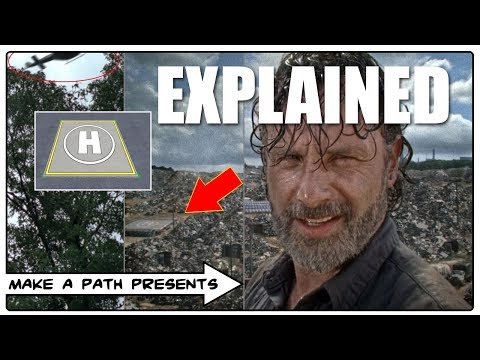 THE HELICOPTER EXPLAINED - STRANGE BUT TRUE - The Walking Dead