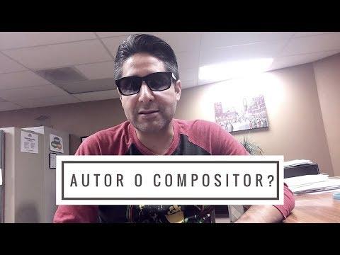 Cual es la diferencia entre Autor y Compositor y que es Letrista?