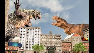 Monster Dinosaur Rampage City Attack | New Dinosaur City Attack Android GamePlay | By Game Crazy
