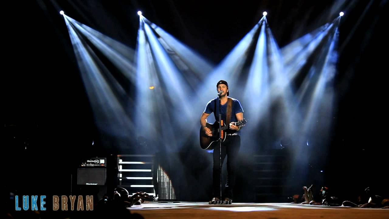 a reflection of the evolution of music and my experience at a concert by luke bryan in auburn alabam I have many of those song but some of the most meaningful songs for me are for me and my family do i– luke bryan sharing an experience or.