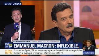 Macron sur BFMTV: