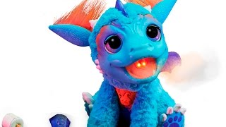 Furreal Friends Torch My Blazin Dragon Pet And Bootsie Pet First Look Toy Fair
