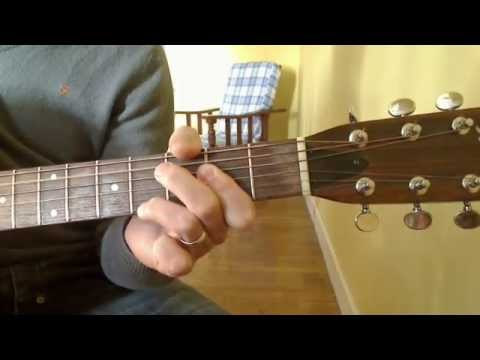 365 Guitar Lessons in 365 Days: 032 - the open Amaj7 chord