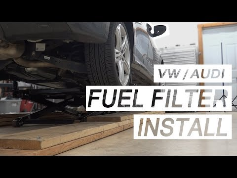 How To Replace the Fuel Filter on a Volkswagen / Audi 2.0T!