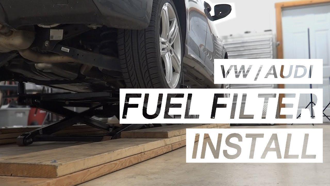 fuelfilter volkswagen audi [ 1280 x 720 Pixel ]