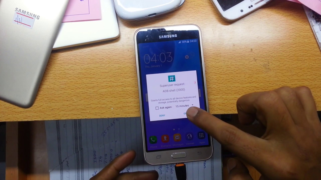 SM-J320FN Emergency Call only FIX & IMEI repair Done 100% _tutorial
