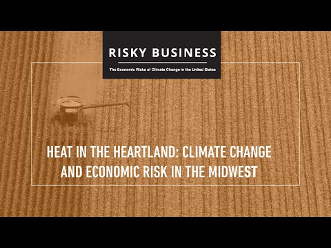 Heat in Heartland: Climate Change and Economic Risk in the Midwest
