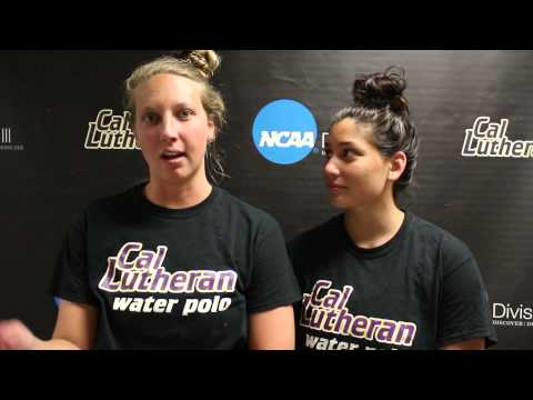 Women's Water Polo   March 19   Post Game Occidental