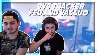 Fed and Yassuo Eye Tracker │Zirene likey dance │Foki song │Twitch Highlights #56