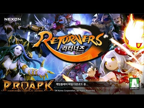 Returners Gameplay Android / IOS (by NEXON) (KR)