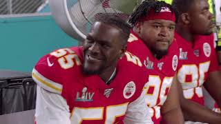 Mic'd Up: Mahomes calls game-changing play to seal victory for the Chiefs | Super Bowl LIV