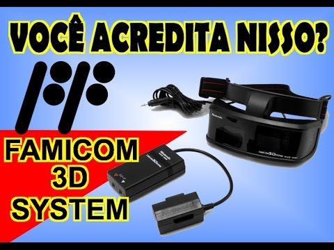 Famicom 3D System? Você acredita que o Famicom teve um 3D?