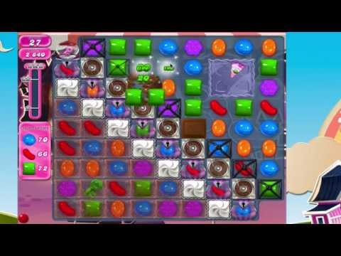Candy Crush Saga Level 712 No Boosters THE KEY!!