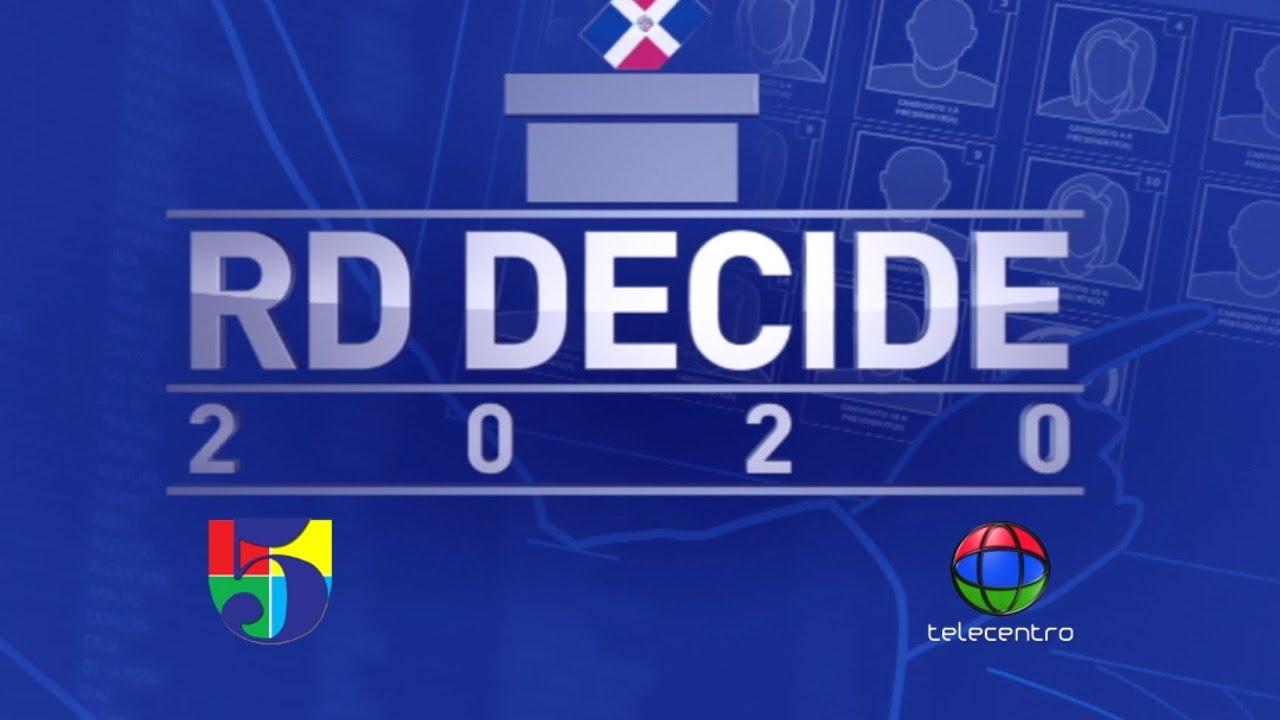En vivo RD Decide - Elecciones Municipales 2020
