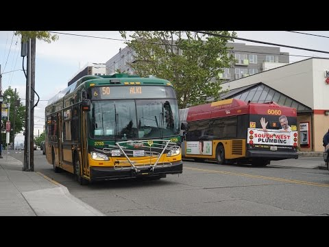 On the street with King County Metro in Seattle