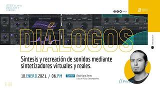 🔴🎙 Síntesis y recreación de sonido mediante sintetizadores virtuales y analógicos.