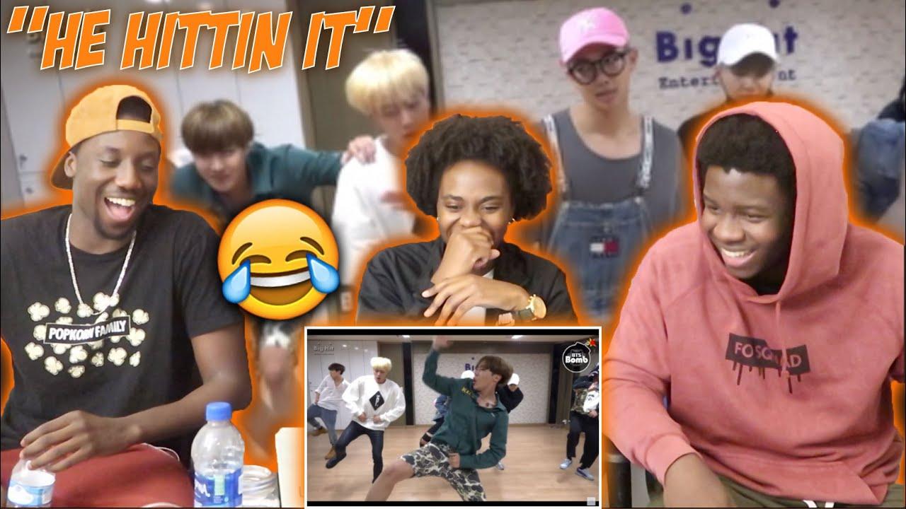 BTS 'Silver Spoon (Baepsae)' mirrored Dance Practice (REACTION)