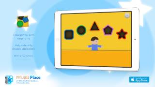 Shapes, by My Little Place - iPad App for children - Game for Early Years and Primary School