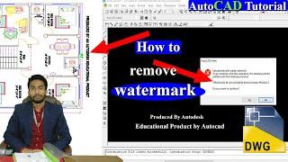 Student Version Autocad Watermark Herunterladen