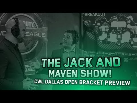 The Jack and Maven Show - CWL Dallas Open Bracket Preview!
