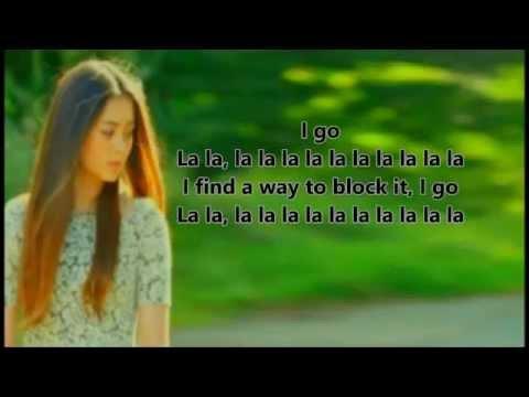 La la la - Cover by Jasmine Thompson [Lyrics]