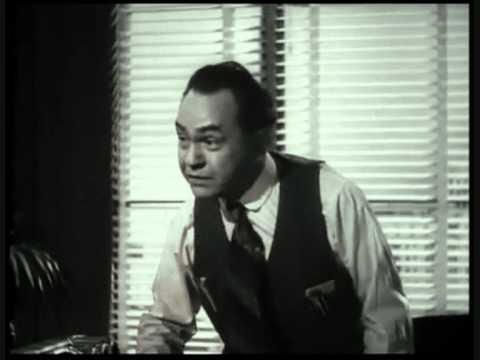 Edward G Robinson , my favorite Double Indemnity scene  1944