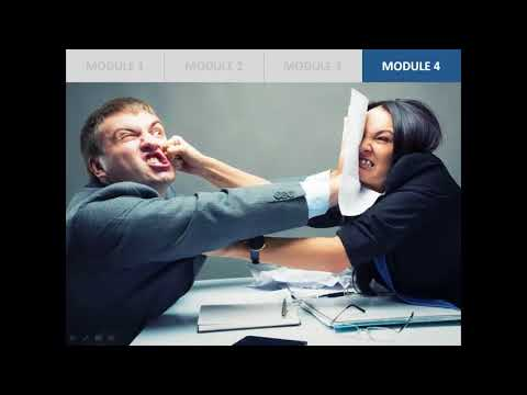 Conflict Resolution Course (Final)