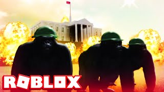 Roblox Gorilla Warfare (Wild Animals Let's Play Video)