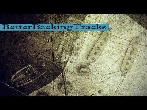 Blues in D Backing Track
