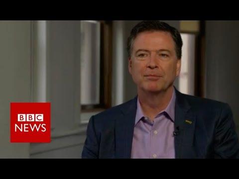 James Comey on Donald Trump and the FBI - BBC News