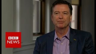 James Comey on Donald Trump and the FBI - BBC News thumbnail
