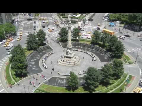 Laurie Olin Projects: Columbus Circle