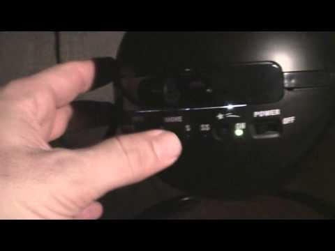 Sega Star Theatre | Homestar Planetarium | HD video in very low light - Sony HDR TG3 - Planetario
