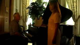 "Maria Jolicoeur & Richard Hamar, ""Adoration"", ""Dance of the Sunflowers"" & old musical organs"