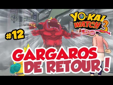 Yo Kai Watch 3 Sushitempura 12 Fr Gargaros De Retour
