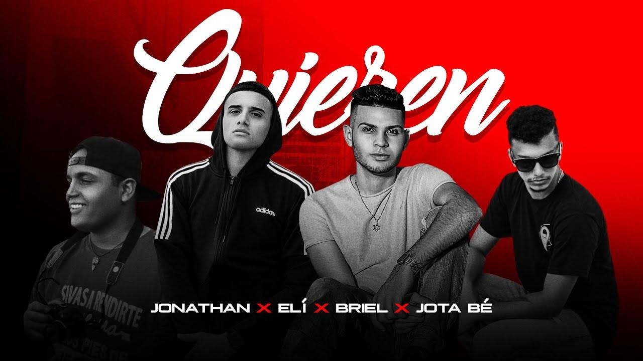 Quieren - Jonathan ❌  Elí ❌  Briel ❌  Jota Bé (Video Lyric)