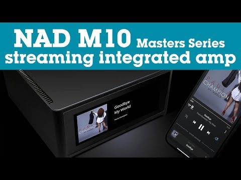 NAD M10 Masters Series Streaming Stereo Integrated Amplifier | Crutchfield