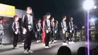 住化夏祭り 2008 (Sumika Festival) スリラー/Thriller (移動カメラ)