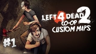 Repeat youtube video Pewds and Cry Plays: L4D2 - Custom Map - Part 1 (mini series)
