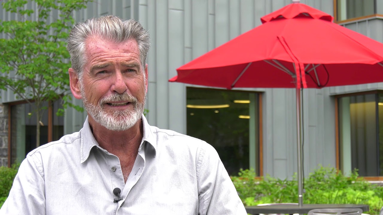 Pierce Brosnan on Environmental Activism and Dickinson's Commitment to Sustainability