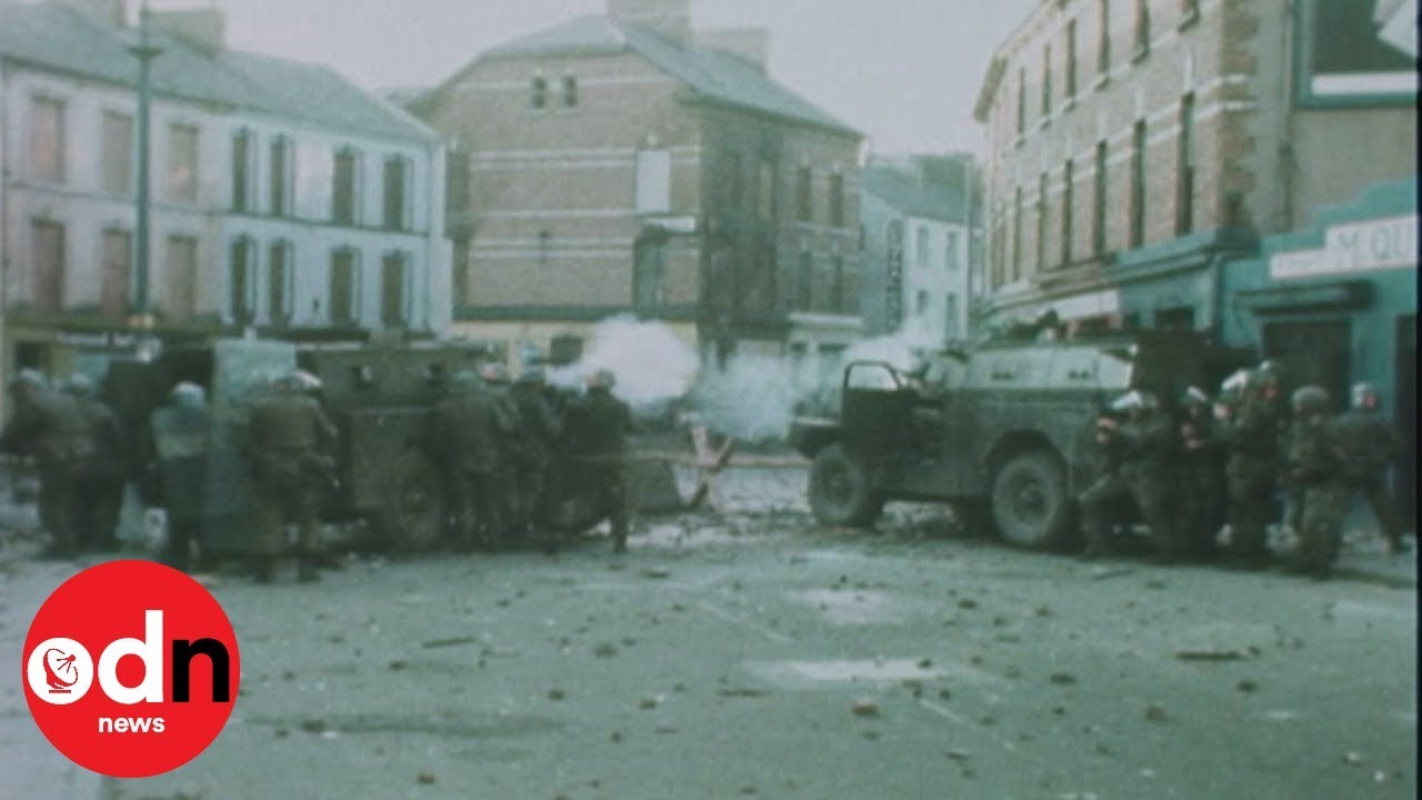 Remembering Bloody Sunday: Rare actual footage (30 Jan. 1972, Derry, Northern Ireland)