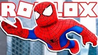 Roblox → HOW to TURN Spider-man on ROBLOX-Spider-Man Blox-Verse 🎮