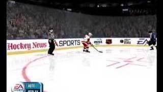 NHL 2001 PC - Gameplay footage