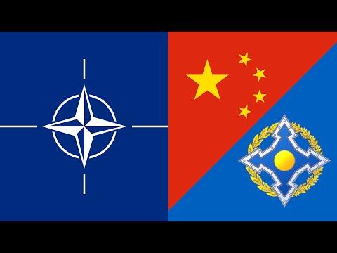 Hearts of Iron 4 Timelapse | NATO vs. CSTO/China (Millenium Dawn Mod)
