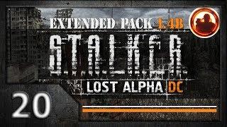 СТАЛКЕР Lost Alpha DC Extended pack 1.4b. Прохождение 20. Артефакт Пекло с самого дна.